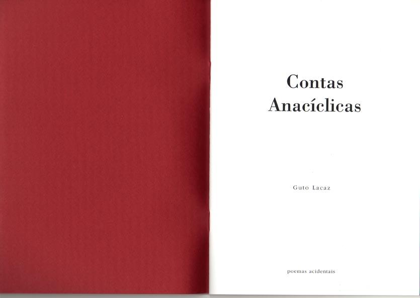 Contas Anacíclicas